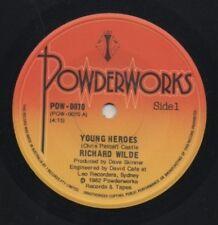 "RICHARD WILDE  RICHARD WILKINS  Rare 1982 Aust Only 7"" OOP Single ""Young Heroes"""