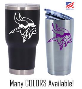 Minnesota Vikings Football Decal for NFL 20 30 Ozark YETI RTIC Tumbler Sticker