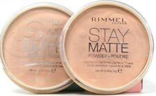 2 Ct Rimmel London 0.49 Oz Stay Matte 005 Silky Beige Lightweight Lasting Powder