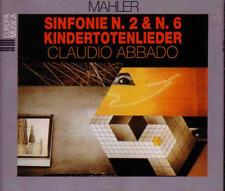 Mahler: Sinfonie N. 2 & N. 6 Kindertotenlieder Resurrezione - Tragica - 3 CD SET