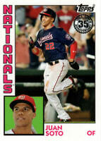 JUAN SOTO  2019 Topps SERIES 1 35th 1984 Anniversary Card # T84-2  NATIONALS