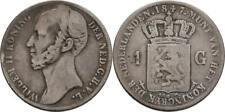 Gulden 1847 Niederlande Willem II., 1840-1849, Krone #Y339