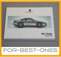 NEU Porsche 911 997 Turbo Betriebsanleitung Bedienungsanleitung Wartung 2006-08