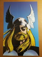 Thor Visionaries Marvel Comics Poster by John Bryne