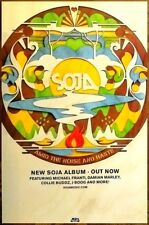 SOJA Amid The Noise And Haste Ltd Ed Discontinued RARE Poster +FREE Rock Poster!
