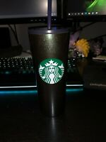 Starbucks Holiday 2020 Gradient Blue Green Shiny Stainless 16oz Tumbler Cup