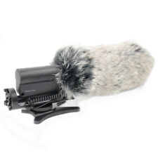 Microphone Mic Windshield Rabbit Fur Muff Windscreen For Camera Recorder New