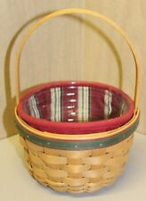 Longaberger - 2005 Holiday Helper Basket w/Liner and Protector (New)