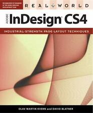 Real World Adobe InDesign CS4 Kvern, Olav Martin, Blatner, David Paperback