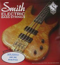KEN SMITH SRL SLICK ROUNDS BASS STRINGS, LIGHT GAUGE 4's 40-103
