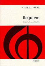 Faure Requiem Op48 Ratcliffe Latin Vocal Score SATB