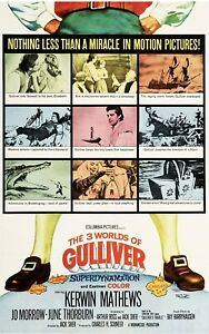 16mm Feature - THREE WORLDS OF GULLIVER, *Middle Reel Only* Kerwin Mathews.