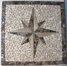 """Marble Travertine Tile Medallion Design Stone 32"""" # 57"""