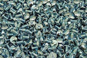 "(600) Phillips Truss Head 1/4-20 x 3/8 Machine Screws Zinc 1/4"""