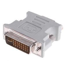 DVI-I M TO VGA MONITOR F CONVERTER ADAPTOR 15PIN SVGA | FREE DELIVERY|