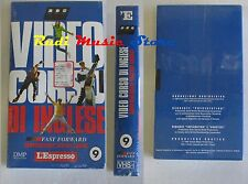 film VHS VIDEOCORSO DI INGLESE CARTONATA L'ESPRESSO VOL. 9   (F30) no dvd *