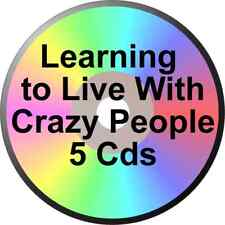 FATHER TOM W 5 CD LEARNING TO LIVE WITH CRAZY PEOPLE ALCOHOLICS ANONYMOUS ALANON