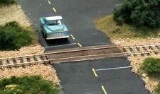 Woodland Scenics  HO  Wood Plank Grade Crossing  WOO1147-NEW