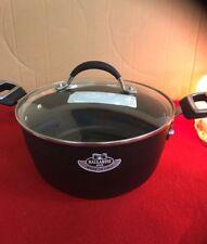 Ballarini Taormina, Covered Dutch Oven Pan TA2LD 24 Glass Lid Made In Italy