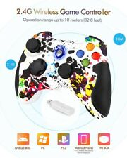 PS3 , PC & Android Wireless 2.4G Gamepads   with Vibration Fire Button