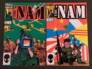 The 'Nam #4 And #7 (Dec 1986, Marvel)