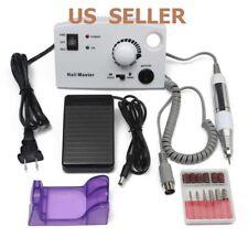 Professional 25000Rpm Electric Nail Drill File Tip Salon Machine Manicure Set