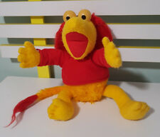 RED FROM FRAGGLE ROCK JIM HENSON MUPPET 80S TOY SOFT TOY PLUSH TOY 35CM TALL!