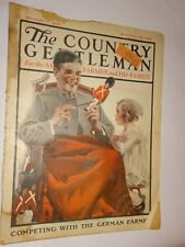 1922 The Country Gentleman Magazine November 11 issue painting tin soldier cover