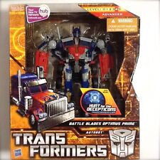 Rare Transformers Battle Blades Optimus Prime Voyager Class Level 4 by Hasbro
