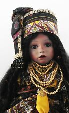 NEW 20 in CAMISHA BLACK AFRICAN AMERICAN ORIGINAL SCULPT PATRICIA LOVELESS DOLL