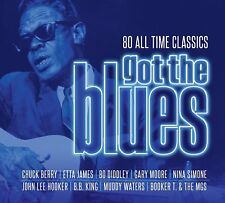 GOT THE BLUES (Various Artists) (Best Of) 4 CD SET (2018)