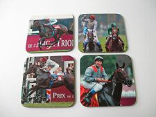 Treve HORSE RACING LEGEND Coaster Set
