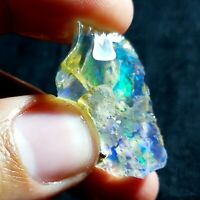 SEE VIDEO 38 Cts NATURAL AAA+ WELO FIRE ETHIOPIAN OPAL ROUGH(33x20x18MM)Z192