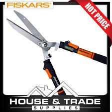 Fiskars Hedge Shears Telescopic Handles Power Lever Garden 9169