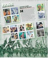 US Scott #3183, Souvenir Sheet 1998 Celebrate the Century 32c FVF MNH