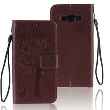 Brown Wallet Shockproof Leather Case Cover Stand Folio For Samsung Galaxy Note 5