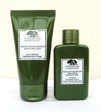 Origins Dr Weil Mega Mushroom Skin Relief Face Cleanser & Toner Set 50ml X 2 n/p