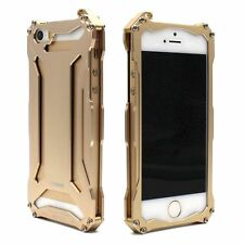 Glossy Metal Fitted Cases for Apple Phones