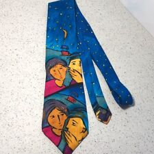 """THE BEATLES NECKTIE DO YOU WANT TO KNOW A SECRET 1991 APPLE CORPS LENNON TIE 55"""""""