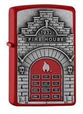 Zippo Fire House 2005338 red matte - Feuerwehr