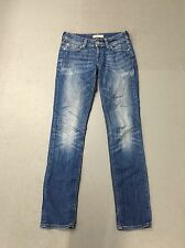 Womens Levi 571 'Slim Fit' Jeans - W28 L34 - Faded Navy Wash - Great Condition