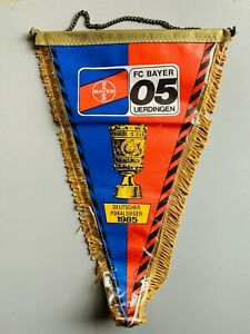 FC Bayer Uerdingen 05 grand fanion vintage football banderin pennant Germany
