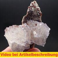 7651 Fluorite Sphalerite ca  5*7*3 cm  2003 Elmwood Mine Tennessee USA  MOVIE