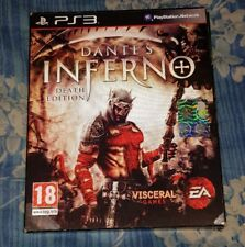 DANTE'S INFERNO DEATH EDITION PS3 PAL ITA  (No Gioco)