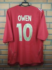Owen England soccer jersey 2XL 2006 2008 away shirt football Umbro