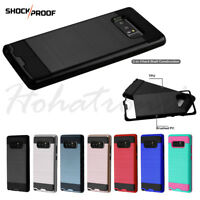 Samsung GALAXY Note 8 HYBRID Rugged Rubber ShockProof Protective Cover Hard Case