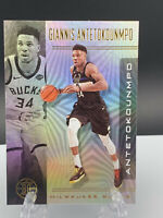 Giannis Antetokounmpo 2019-20 Panini Illusions Basketball Base Card