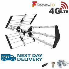 More details for freeview tv 48 element triboom aerial 4g outdoor & indoor digital hd 4k signals