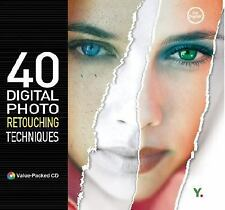 40 Digital Photography Retouching Techniques by Youngjin.com Staff (2003, NEW
