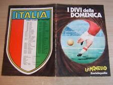 ALBUM FIGURINE VUOTO=I DIVI DELLA DOMENICA=IL MONELLO 1971
